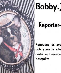 Bobby .J. Bob à la fontaine Saint-Sulpice