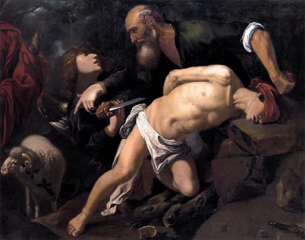 sacrifice-disaac-par-abraham Freud