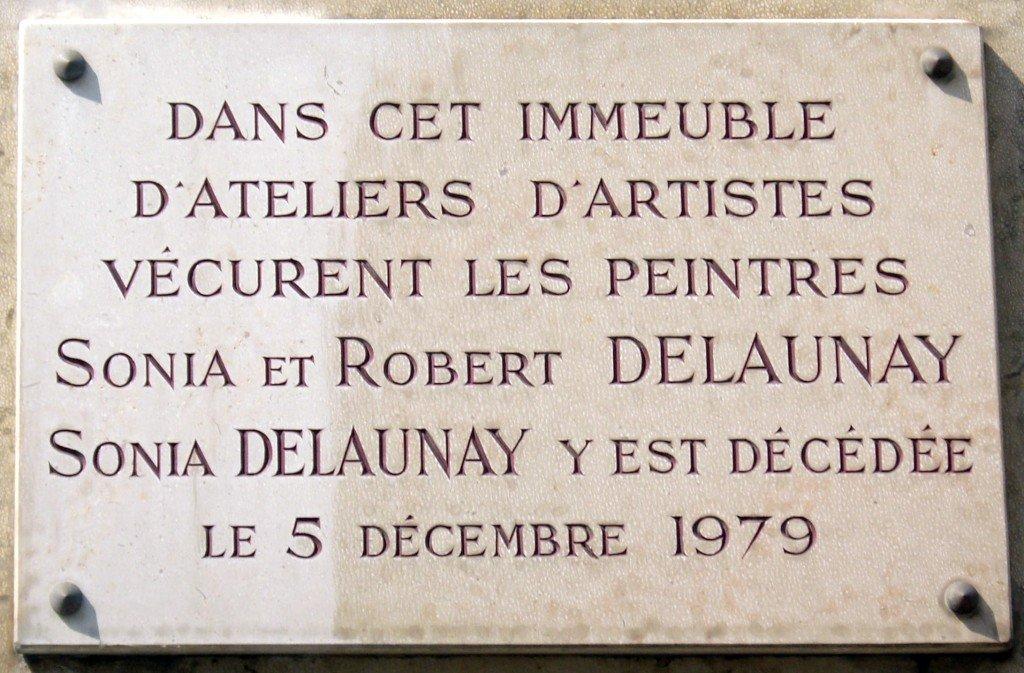 plaque_sonia_et_robert_delaunay_16_rue_de_saint-simon_paris_7